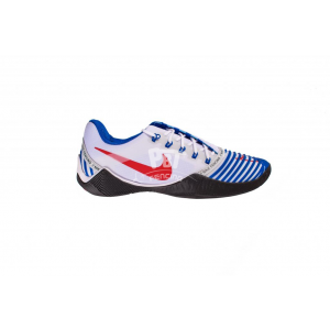 Fencing Shoes Nike Ballestra 2 WHITE-NAVY-RED
